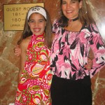 Jackie and Lexi Ulmer having fun at a 70s party