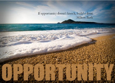 Opportunity Postcard for Profits