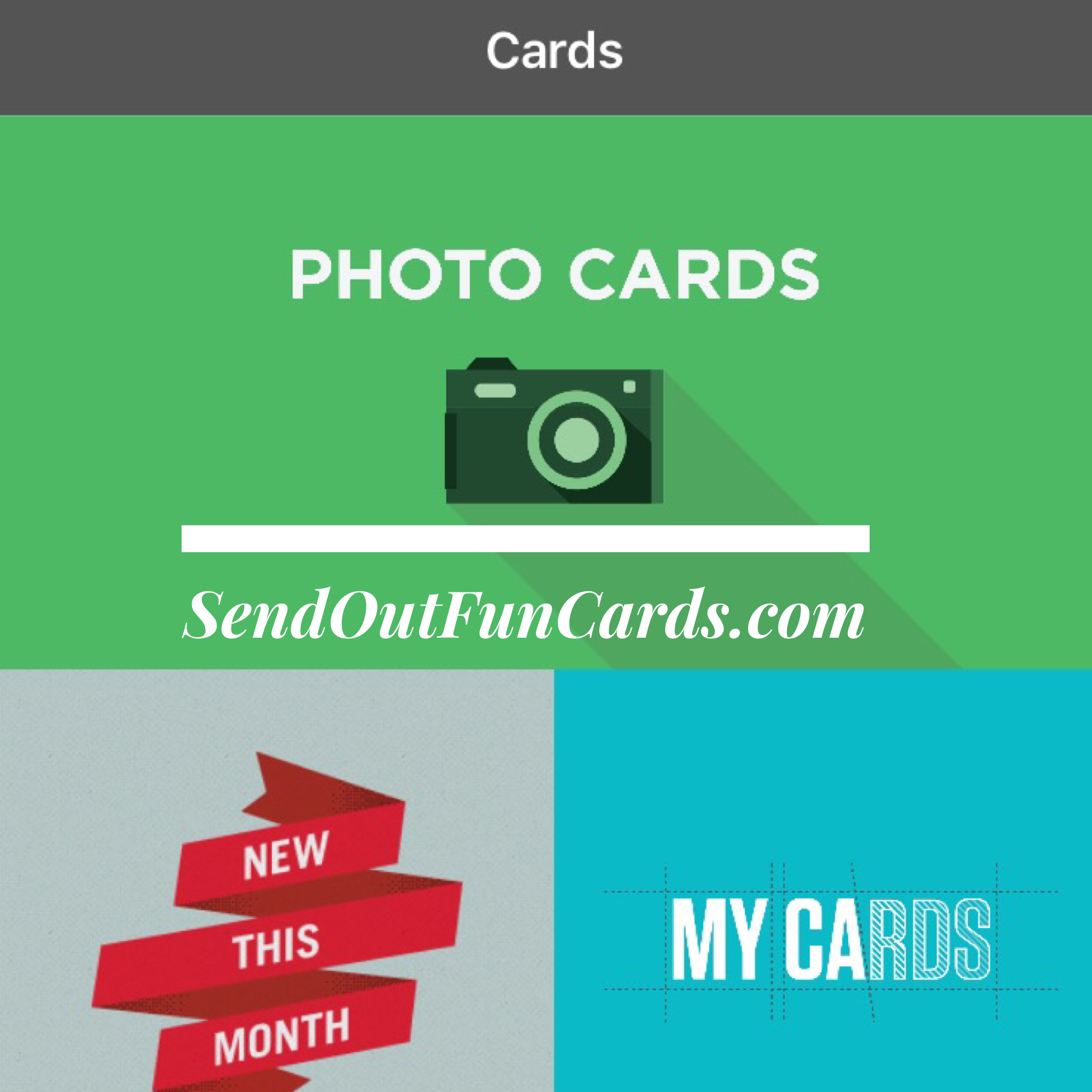 Send Out Cards App Details -